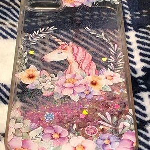 Sparkly Unicorn Cell Phone Cover